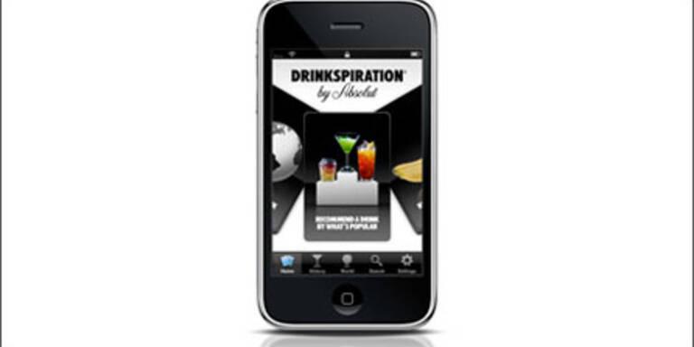 """Drinkspiration-App"" im App Store"