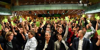 Grüne Abstimmung zur Koalition: Nur 15 Gegenstimmen