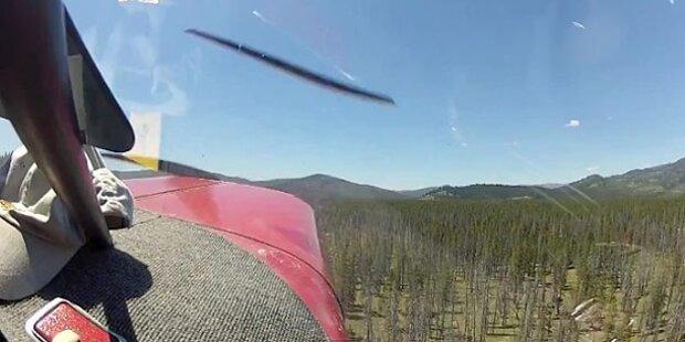 Video: Passagiere filmten eigenen Absturz
