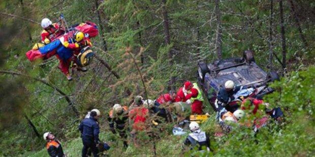 Osttiroler überleben 50 Meter-Absturz