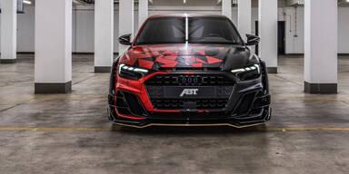 Audi A1 mit über 400 PS und Brutalo-Optik