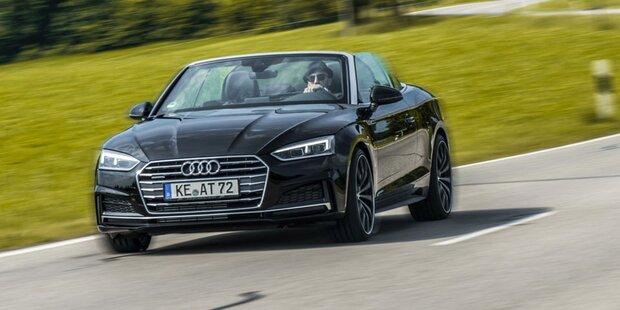 Leistungskur für das neue Audi A5 Cabrio