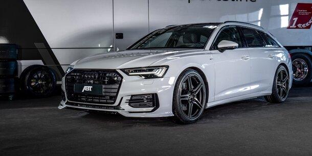 Neuer audi a6 avant mit 425 ps for Audi a6 breite mit spiegel