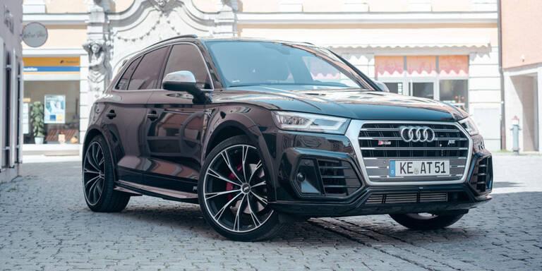 Neuer Audi SQ5 TDI jetzt noch schneller