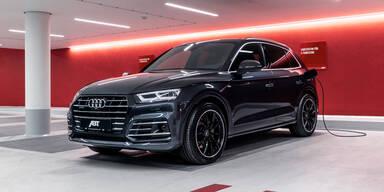 Mehr Leistung für den Audi Q5 Plug-in-Hybrid
