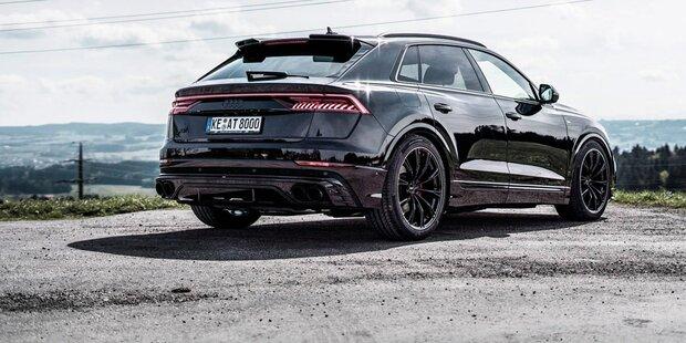 Elektronische Tieferlegung für Audi Q8