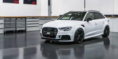 Audi RS3 mit irrwitzigen 500 PS