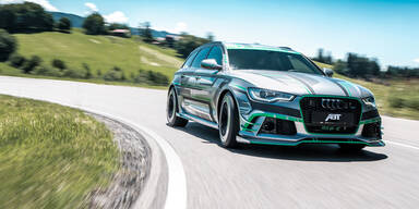 Brachial: Audi RS6 mit über 1.000 PS