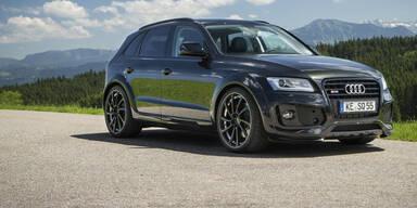 Jetzt wird der Audi SQ5 TDI richtig sportlich