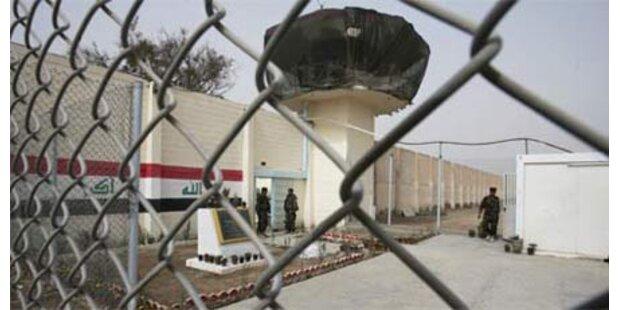 Aufstand in Abu Ghraib - ein Toter
