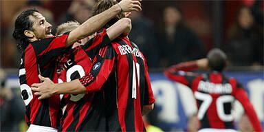 Milan übernimmt Tabellenführung