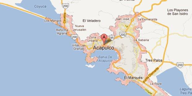 Schweres Erdbeben bei Acapulco in Mexiko