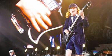 AC/DC rocken Österreich