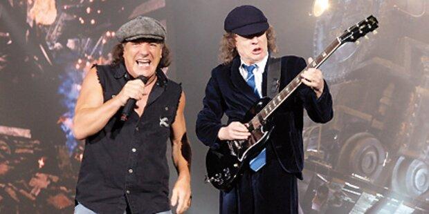 Platz eins - AC/DC erobern Charts