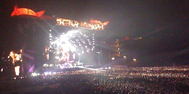 AC/DC: In Wels war die Hölle los