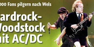Woodstock in Österreich mit AC/DC