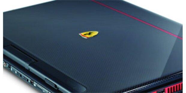 Acer kündigt Sub-Notebook im Ferrari-Design an