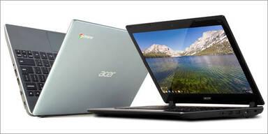 Acer greift mit Tablets und Chromebook an