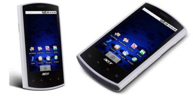 Acer bringt Android- und Windows-Handys