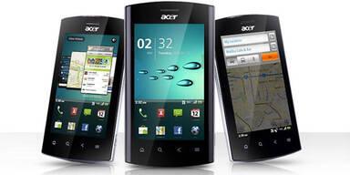 Google stoppte Acer-Smartphone