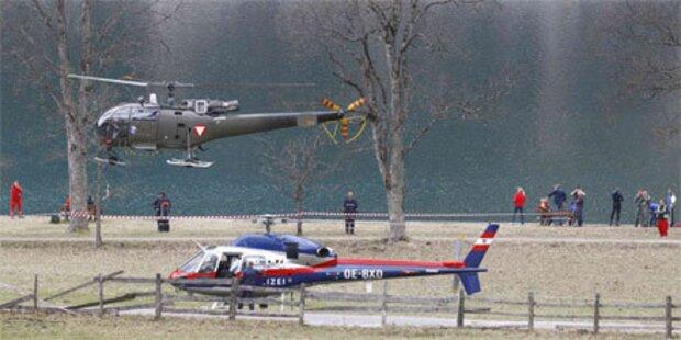 Hubschrauberabsturz am Achensee: 4 Tote