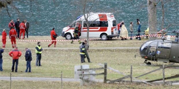 Achensee: Hubschrauber abgestürzt