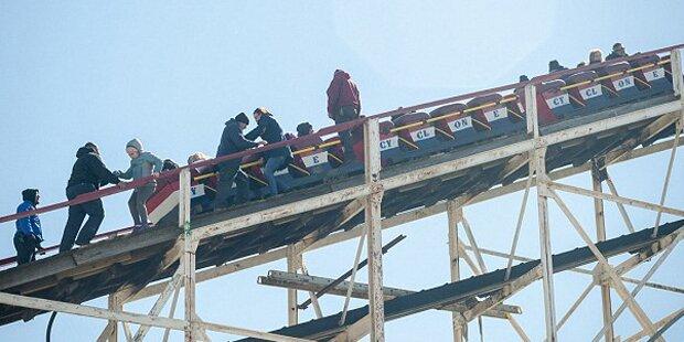 Horrorunfall in Freizeitpark