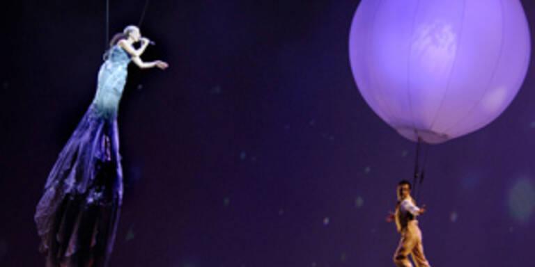 """Bild aus """"Delirium"""", der letzten Show der Weltklasse-Truppe des Cirque du Soleil"""