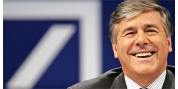 Deutsche Bank schreibt 2,5 Mrd Euro ab