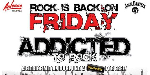 U4 - Addicted to Rock ab jetzt Freitags!