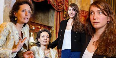 Gräfin Simone Miller-Aichholz & Gräfin Luise Hardegg