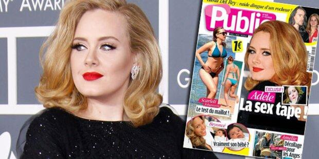 Adele wehrt sich gegen angebliches Sex-Tape