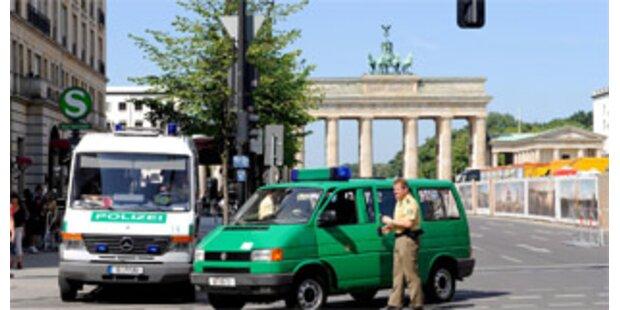 Entwarnung in Obamas Hotel in Berlin