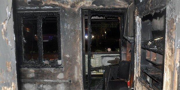 Mutter und Tochter bei Brand verletzt