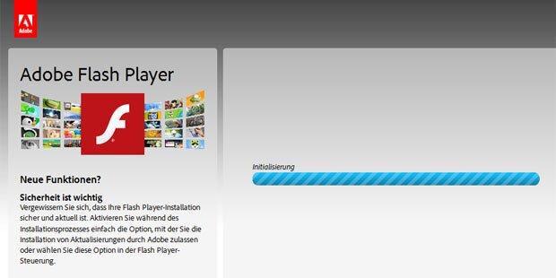 Update für Flash Player sofort installieren