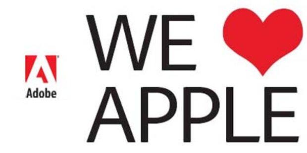 Adobe attackiert Apple mit Love-Kampagne