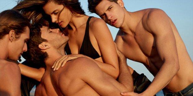 Alessandra Ambrosio für Männer-Magazin