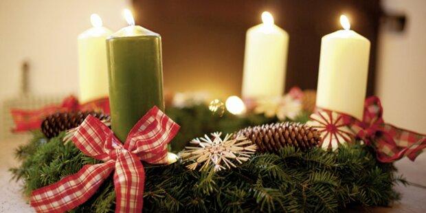 So wird der Advent richtig schön