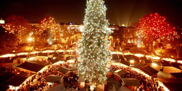 Start für Wiener Weihnachtsmärkte