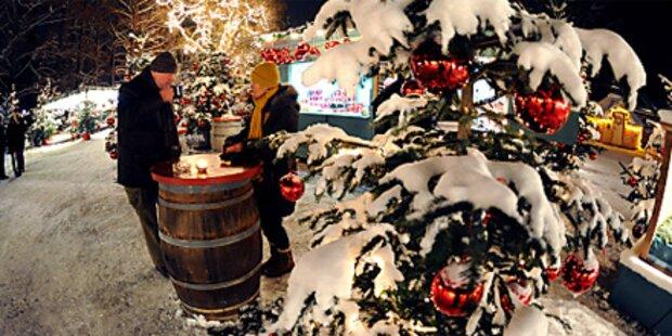 Wo es zu Weihnachten weiß sein wird