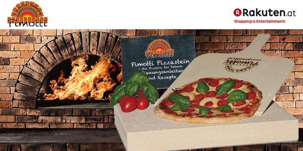 Pimotti Pizzastein- die Pizzeria für daheim!