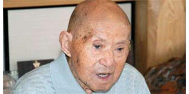 Ältester Mann der Welt feiert 113. Geburtstag