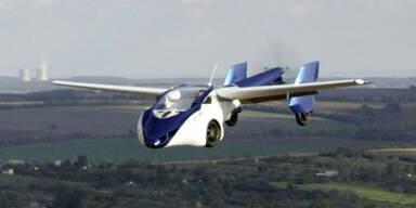 Fliegendes Auto in Wien präsentiert