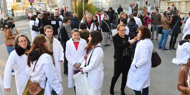 Ärzte-Streik legt heute Wien lahm