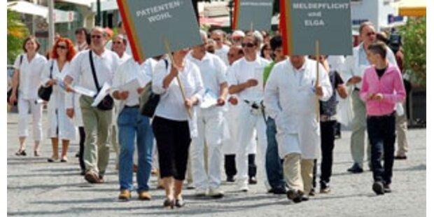 Ärzte gehen wieder auf die Straße