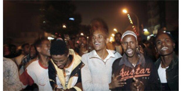 Äthiopien feiert Beginn des Jahres 2000
