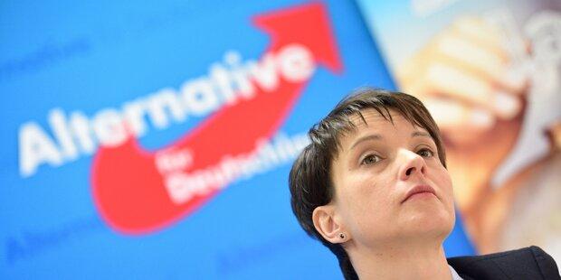 Immunität von AfD-Chefin Petry aufgehoben