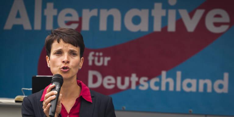 Sachsen-Wahl: AfD erstmals im Landtag