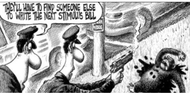 Wirbel um Affen-Karikatur von Obama
