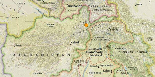 Schweres Beben erschüttert Afghanistan